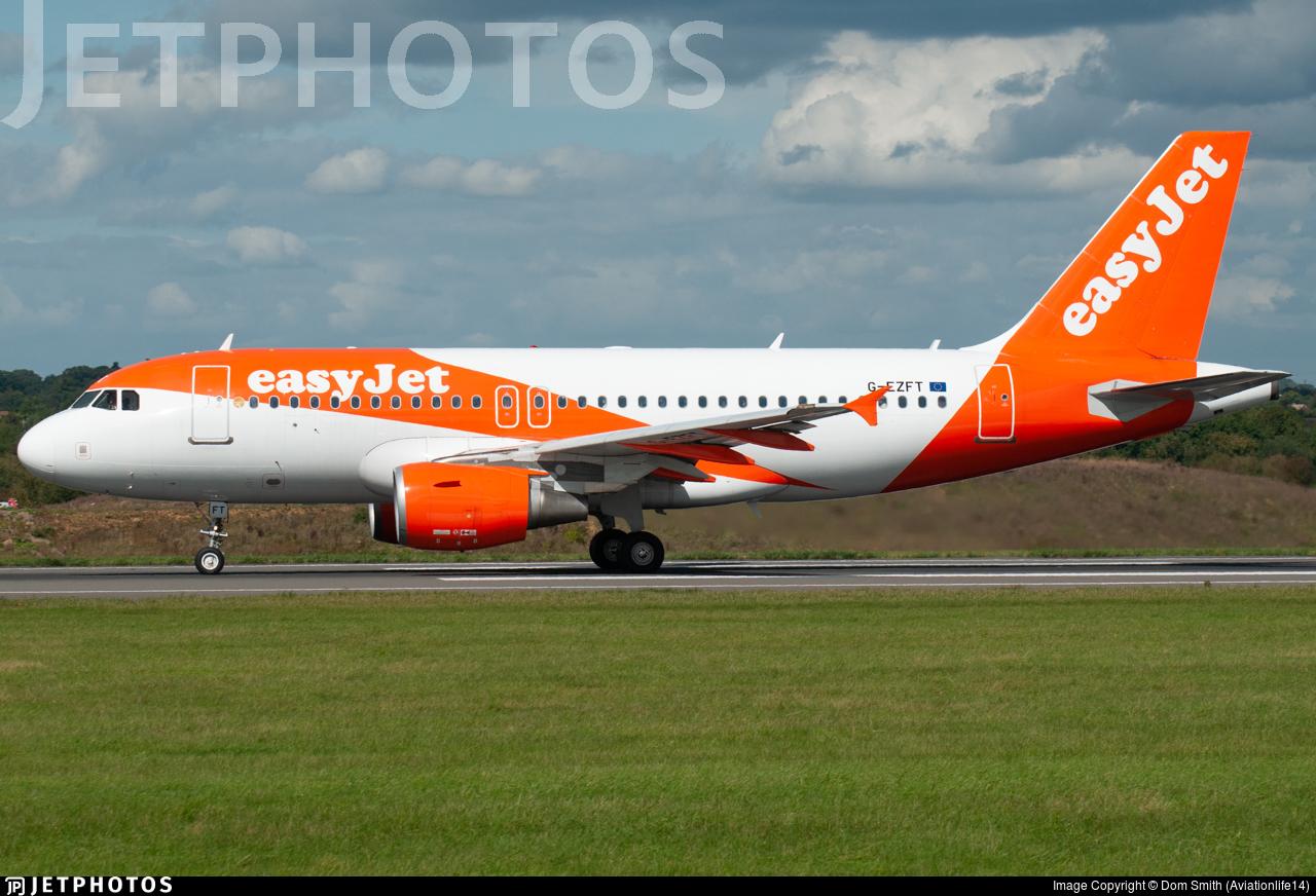 G-EZFT - Airbus A319-111 - easyJet