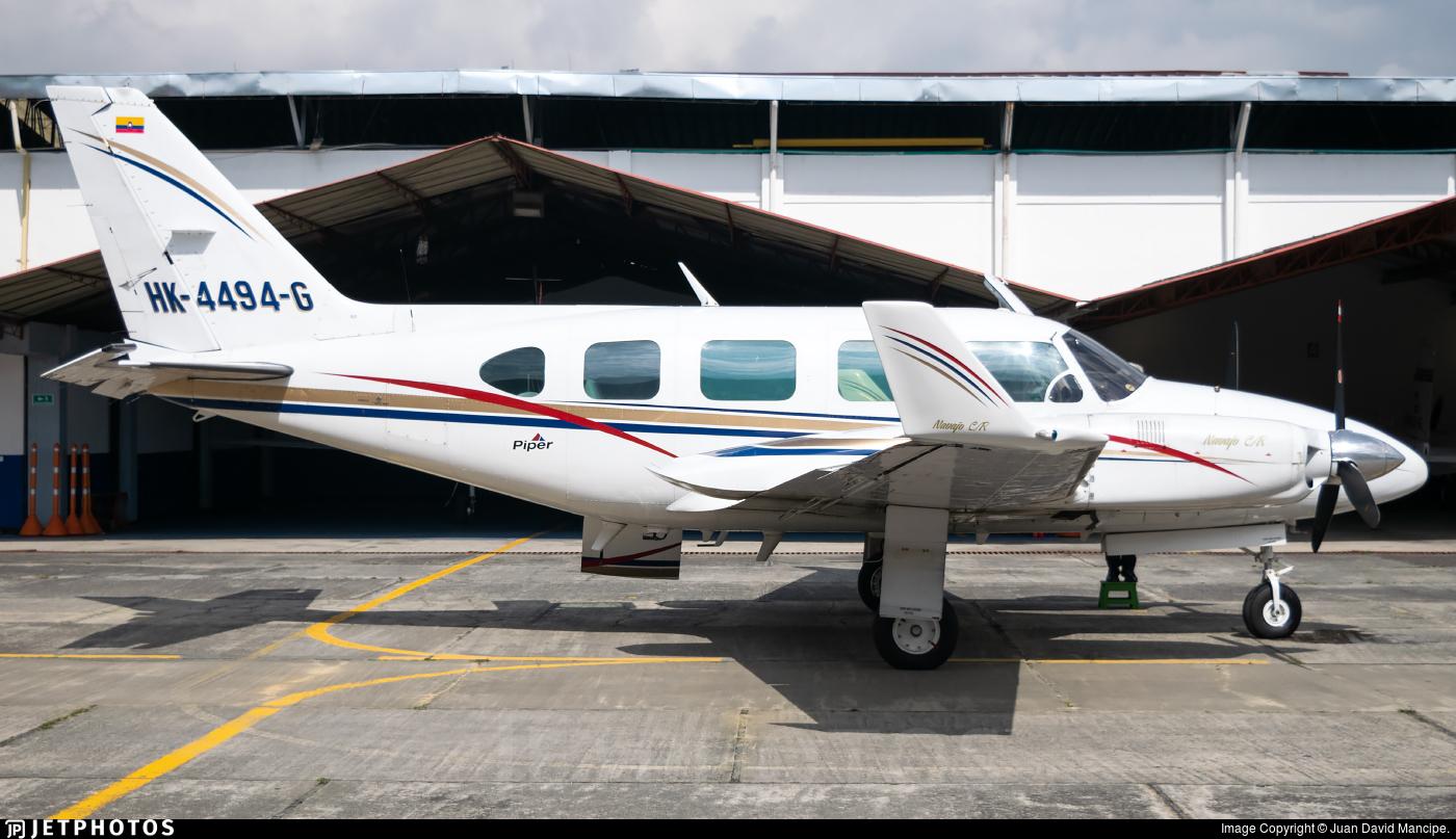 HK-4494-G - Piper PA-31-325 Navajo C/R - Patrulla Aerea Civil