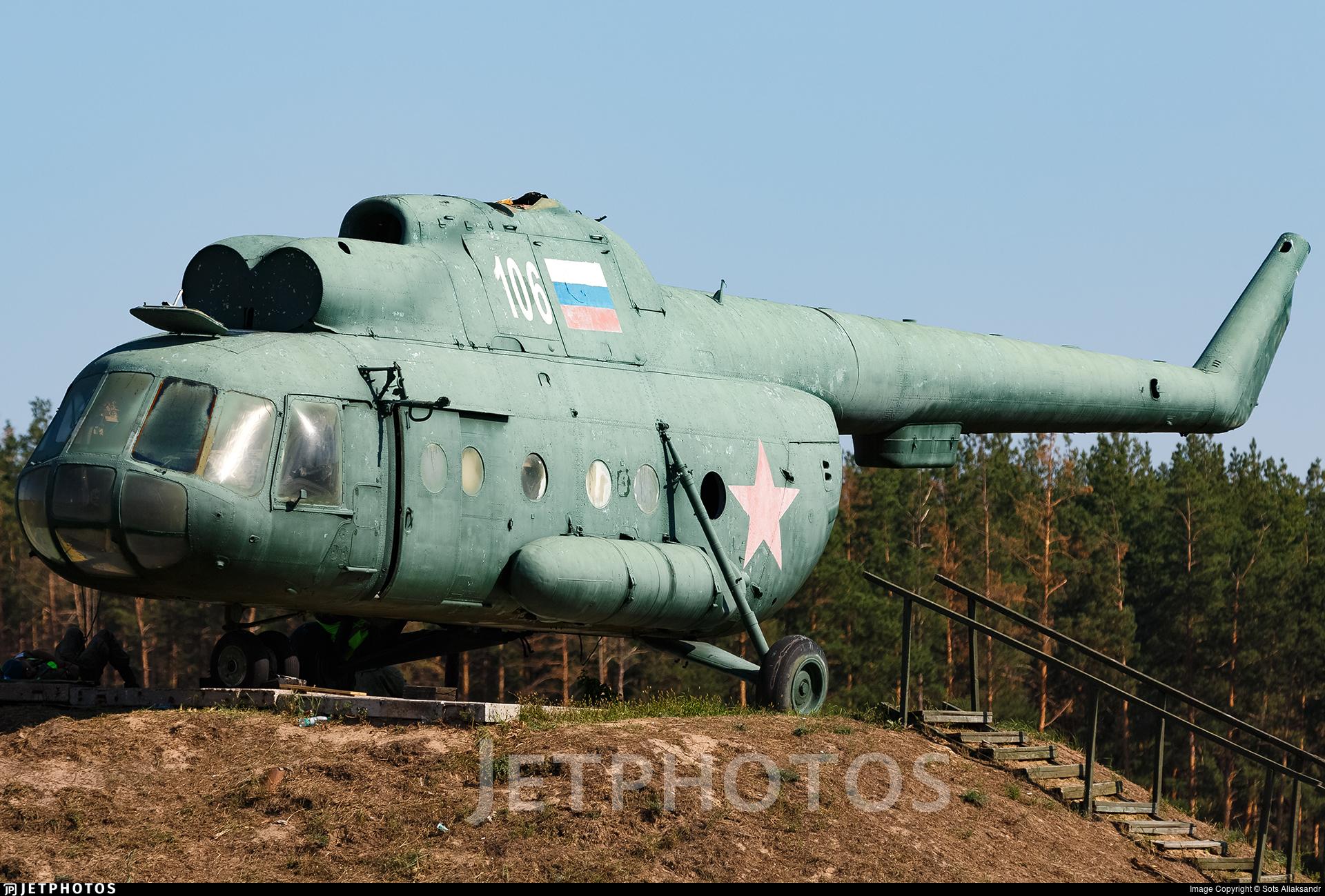 106 - Mil Mi-8T Hip - Russia - Air Force
