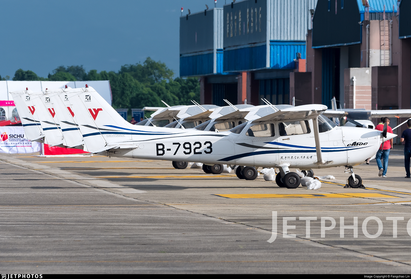 B-7923 - Cessna 172R Skyhawk - Civil Aviation Flight University of China
