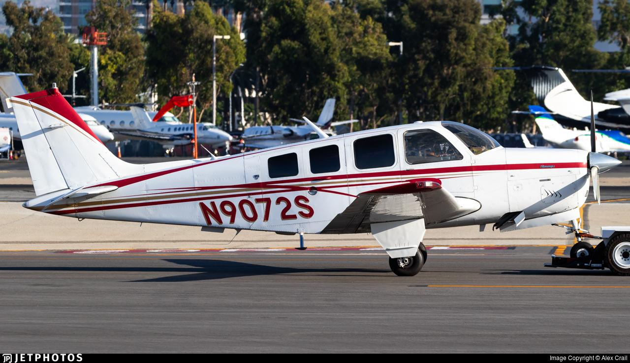 N9072S - Beechcraft A36 Bonanza - Private
