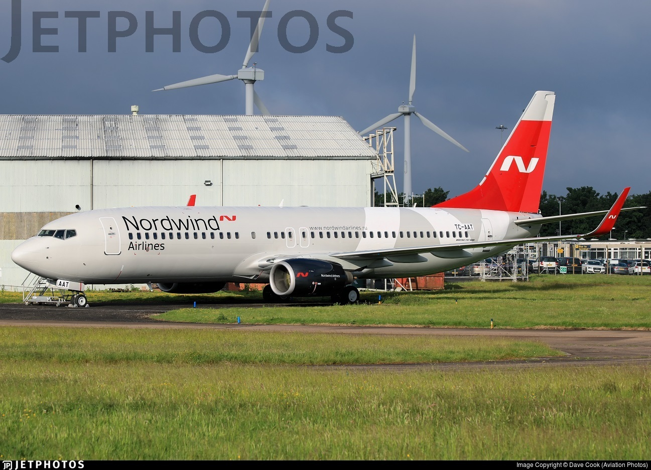 TC-AAT - Boeing 737-82R - Nordwind Airlines