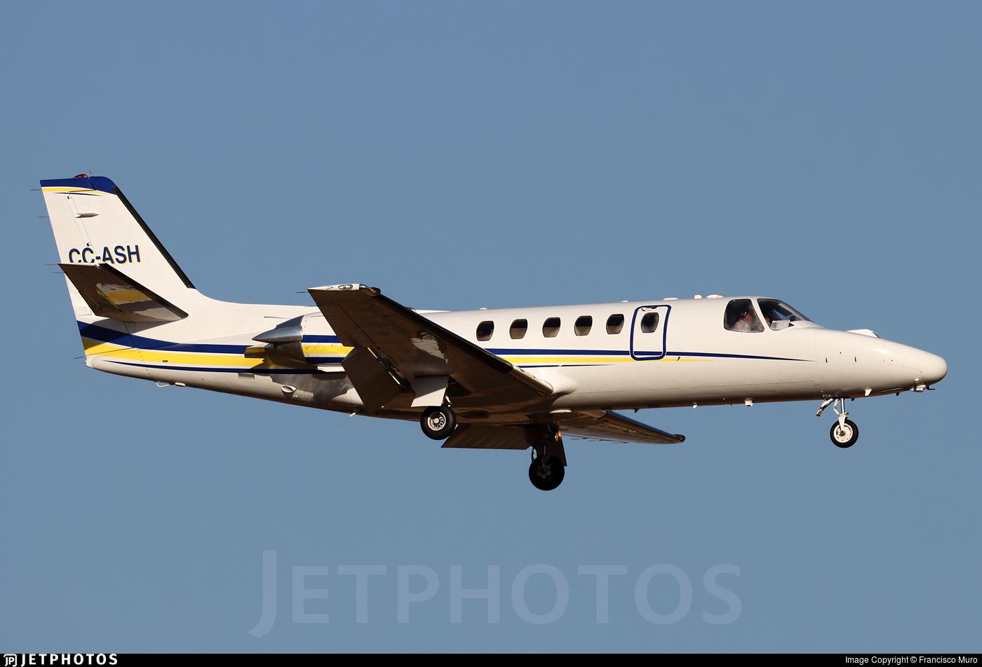 CC-ASH - Cessna 550 Citation II - Private