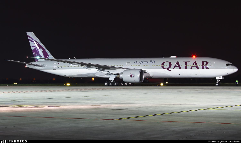 A7-BAM - Boeing 777-3DZER - Qatar Airways