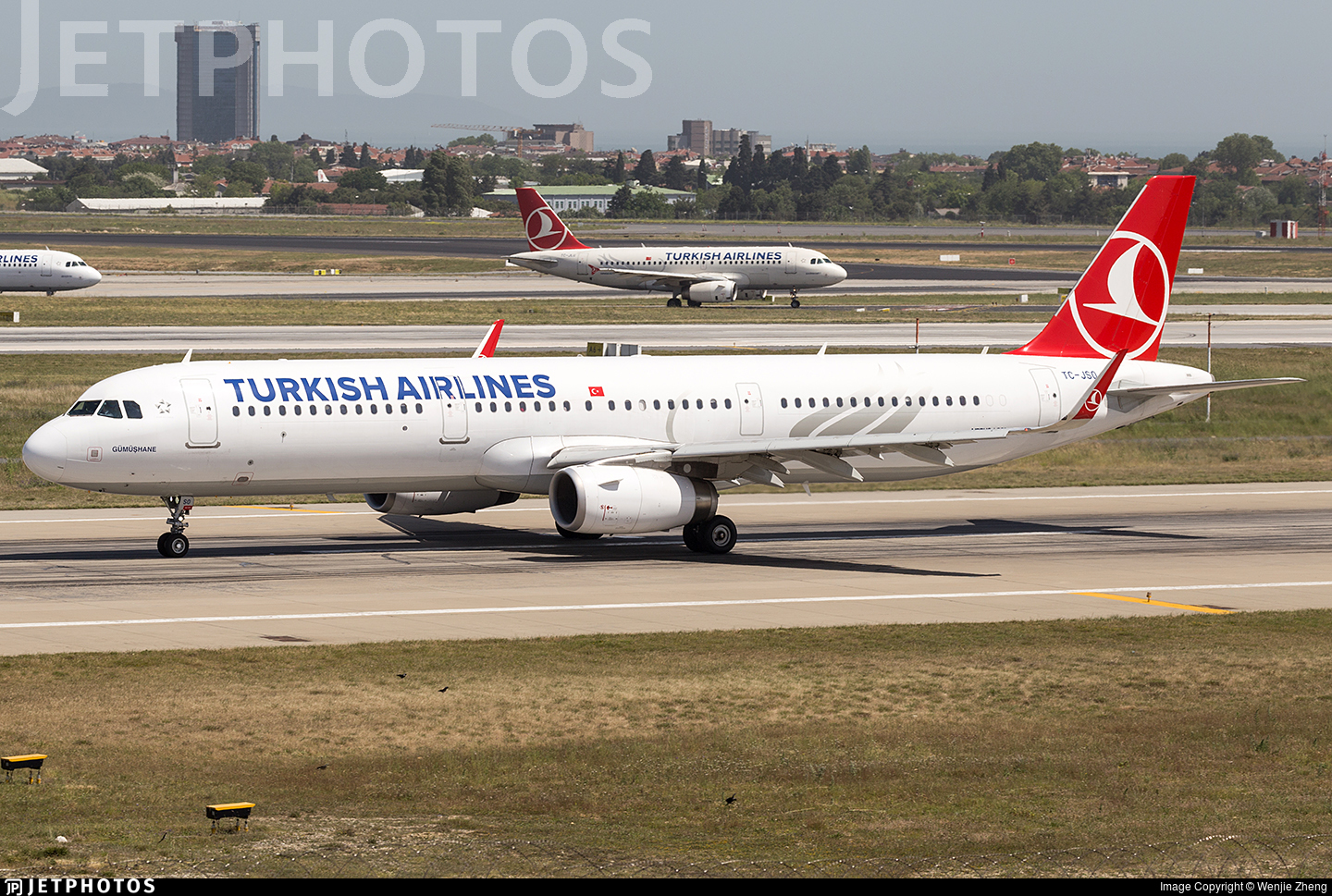 TC-JSO - Airbus A321-231 - Turkish Airlines