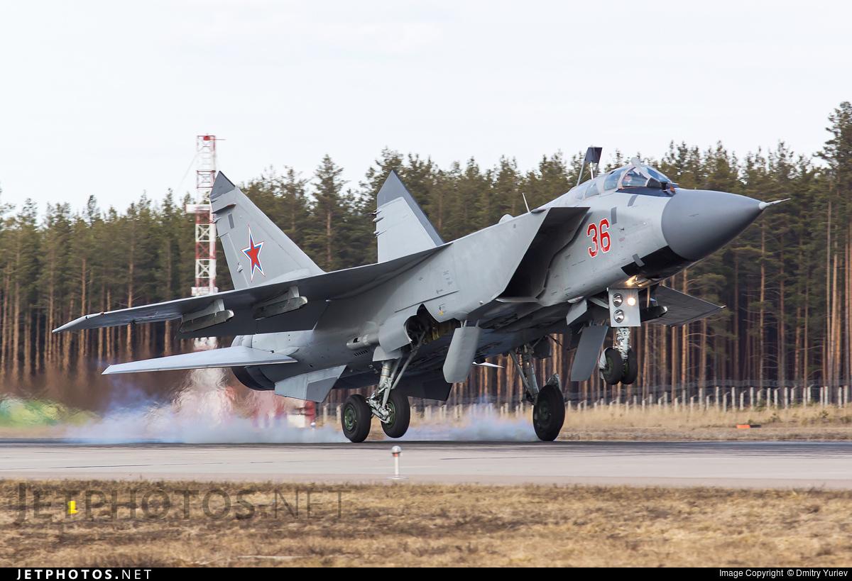36 - Mikoyan-Gurevich MiG-31BM Foxhound - Russia - Air Force