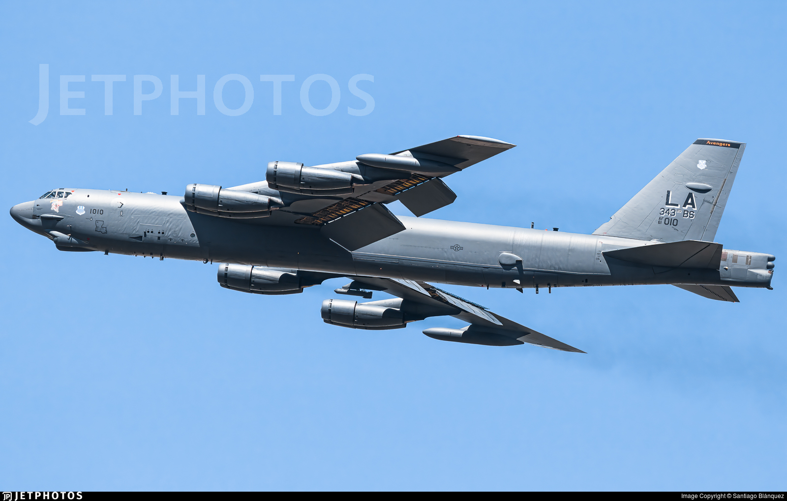 61-0010 - Boeing B-52H Stratofortress - United States - US Air Force (USAF)