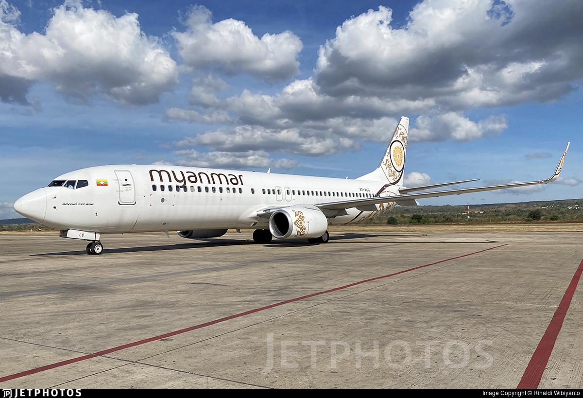 XY-ALC - Boeing 737-86N - Myanmar National Airlines