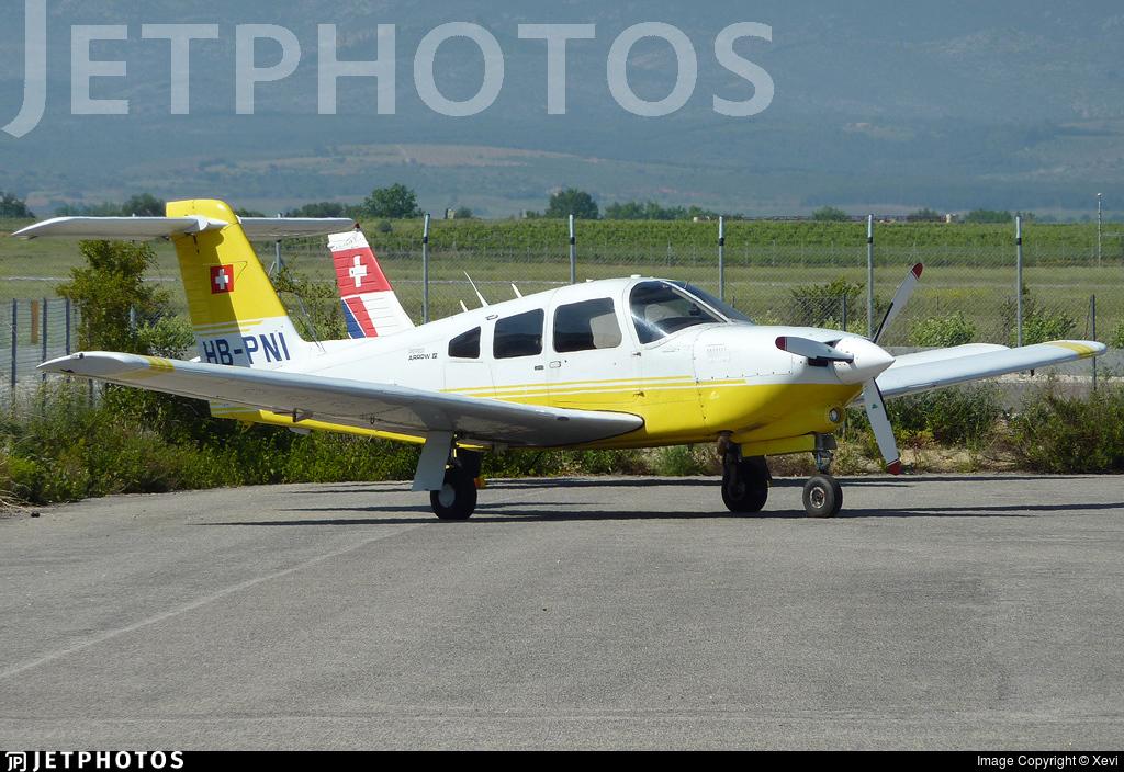 HB-PNI - Piper PA-28RT-201T Turbo Arrow IV - Flugschule Basel