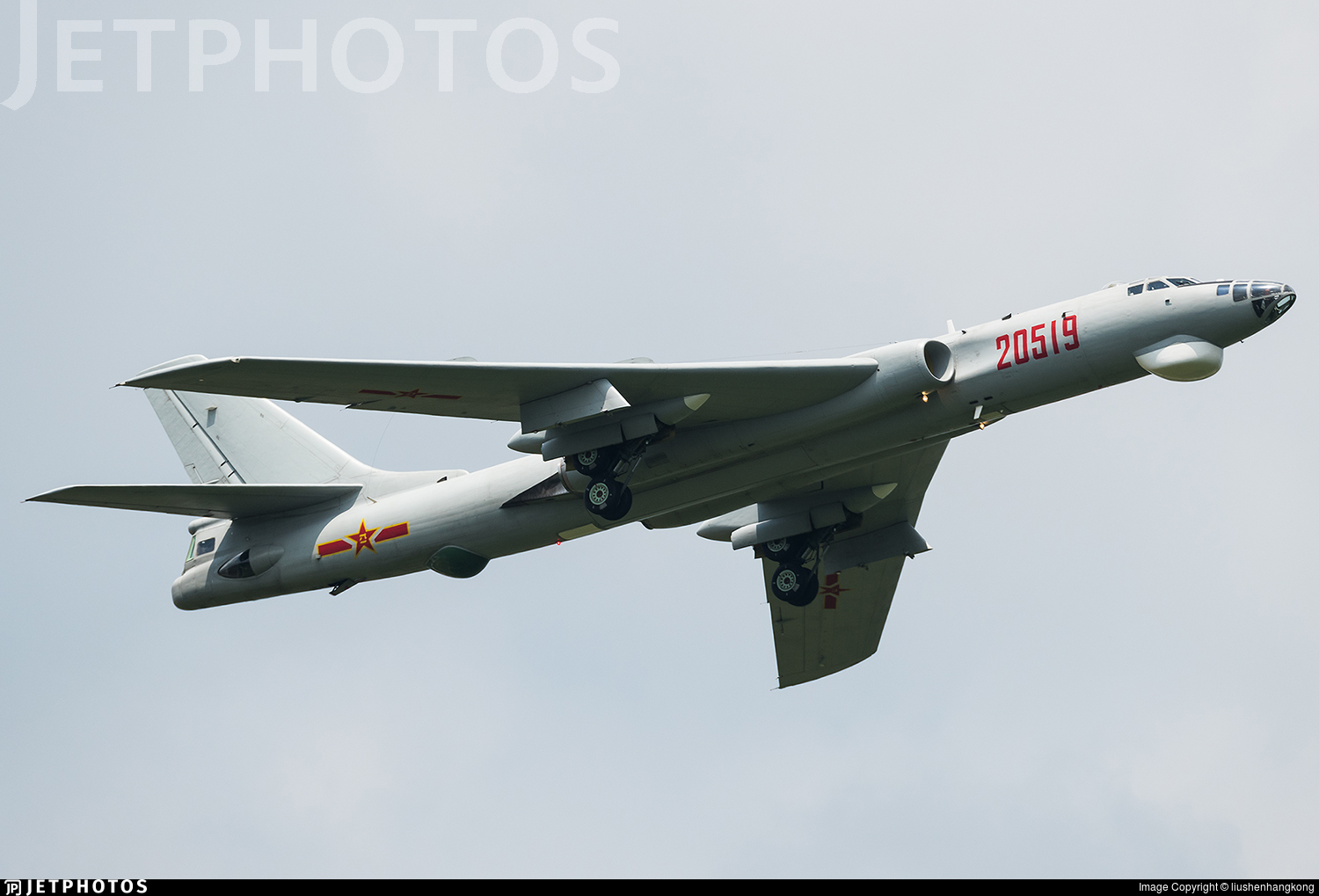 20519 - Xian H-6H - China - Air Force