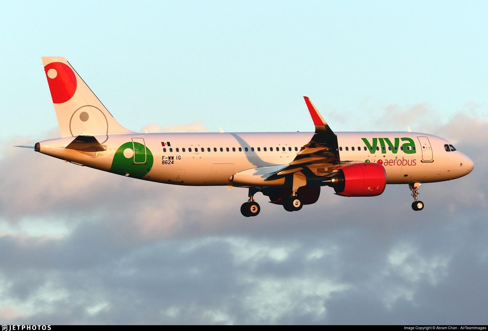 F-WWIG - Airbus A320-271N - VivaAerobus