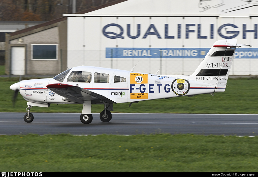 F-GETG - Piper PA-28RT-201 Arrow IV - LGP Aviation  ATO Valenciennes