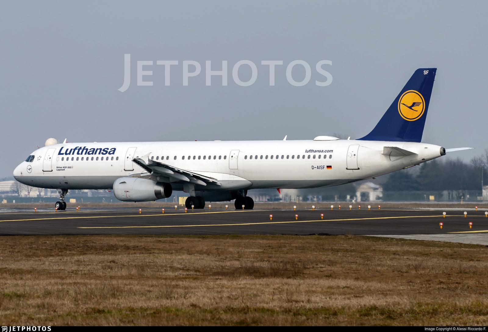 D-AISF - Airbus A321-231 - Lufthansa