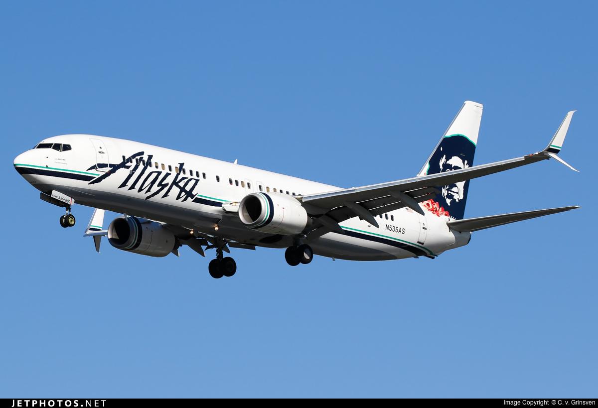 N535AS - Boeing 737-890 - Alaska Airlines