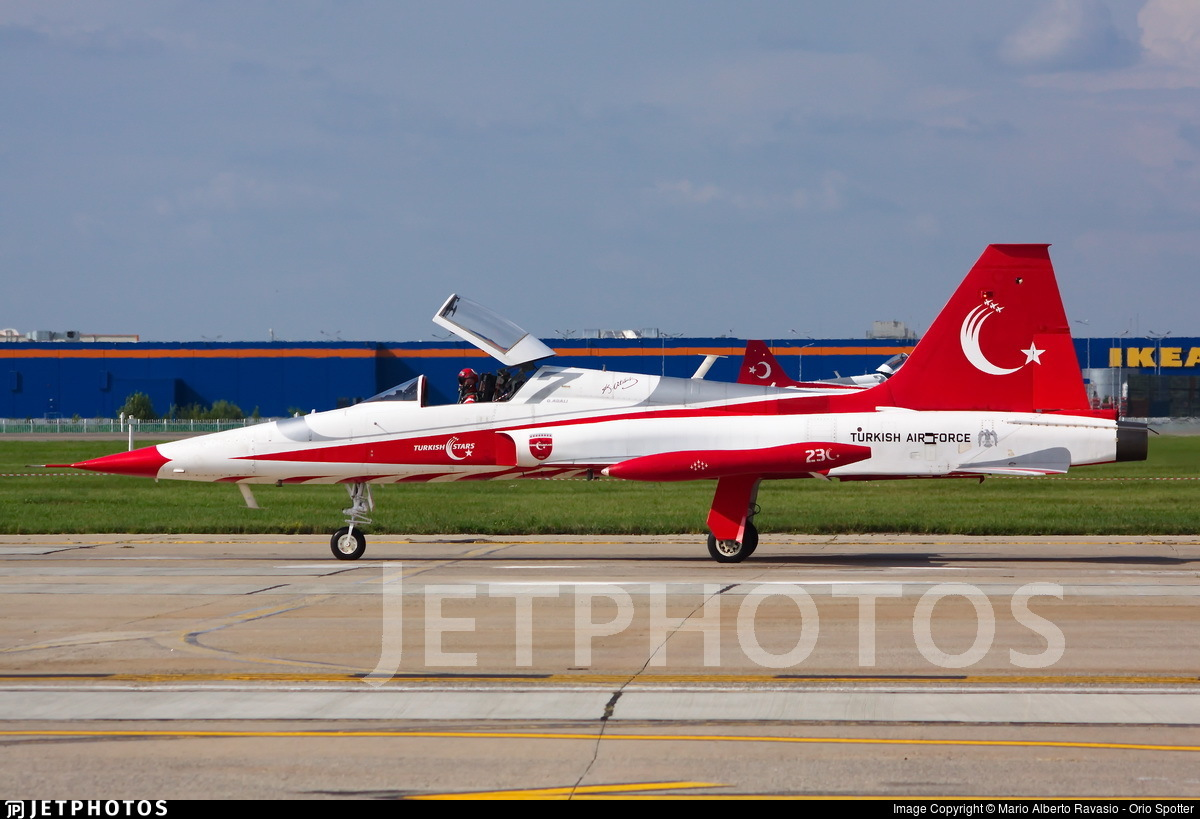 70-3023 - Canadair NF-5A Freedom Fighter - Turkey - Air Force