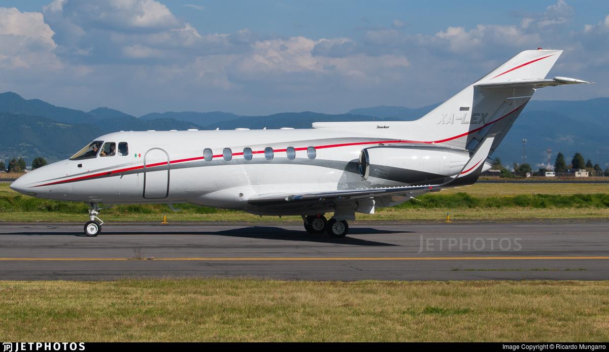 XA-LEX - British Aerospace BAe 125-800(SP) - Private