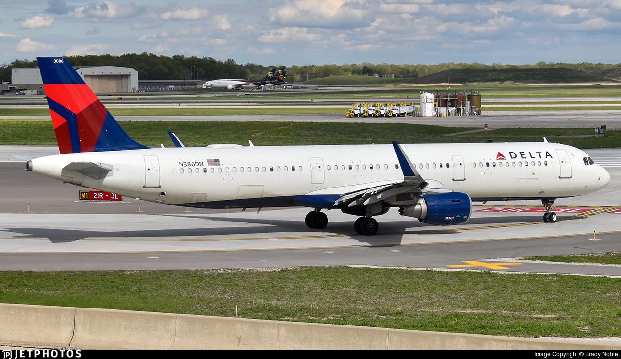 N386DN - Airbus A321-211 - Delta Air Lines