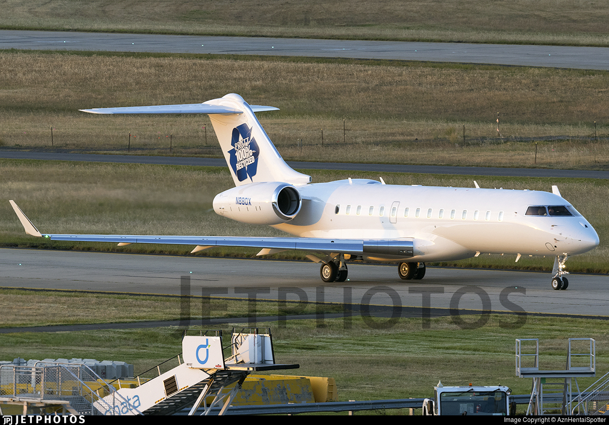 N880X - Bombardier BD-700-1A10 Global 6000 - Private