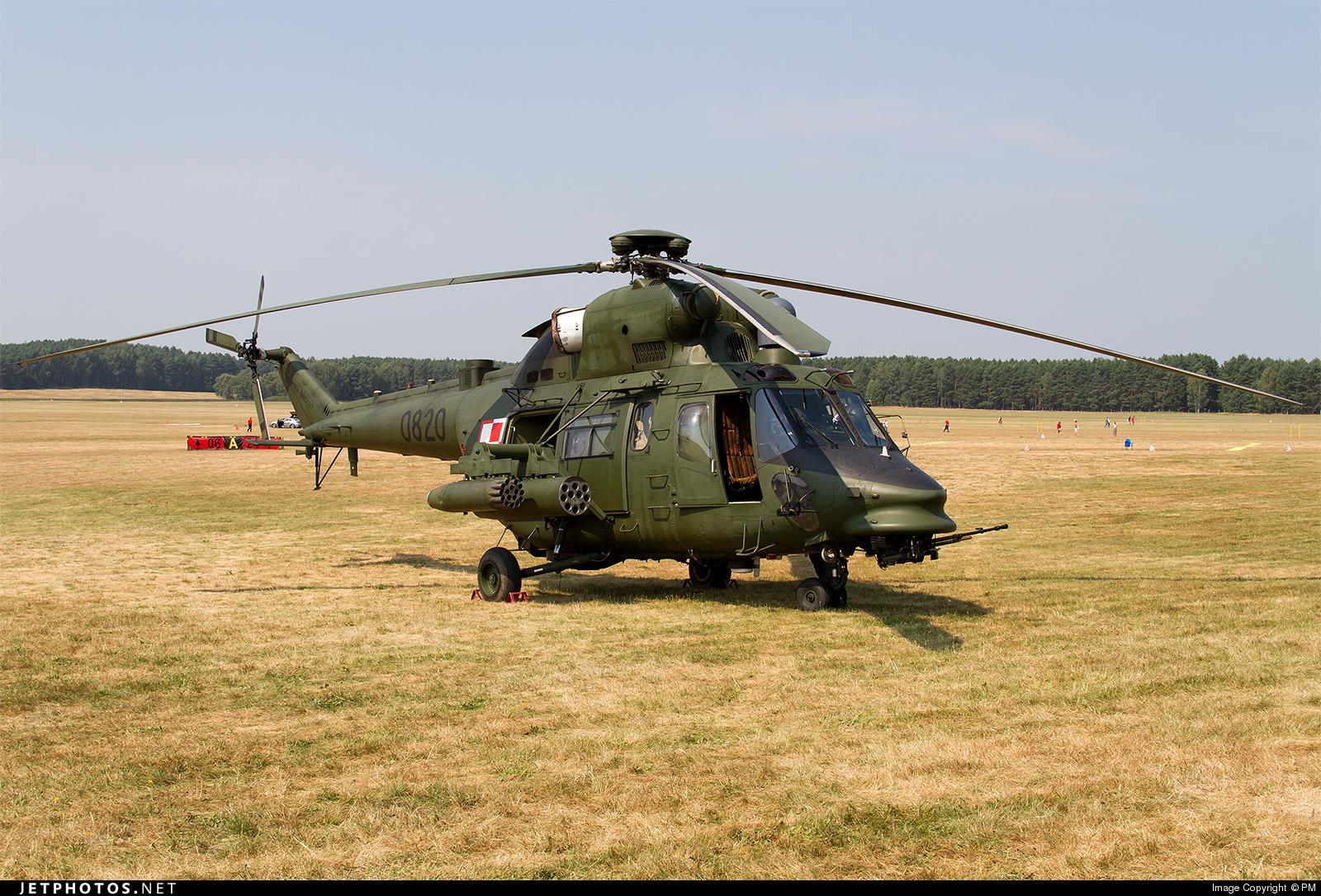 0820 - PZL-Swidnik W3PL Gluszec - Poland - Army