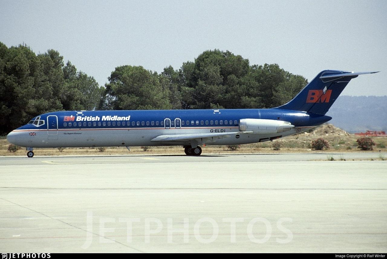 G-ELDI - McDonnell Douglas DC-9-32 - British Midland