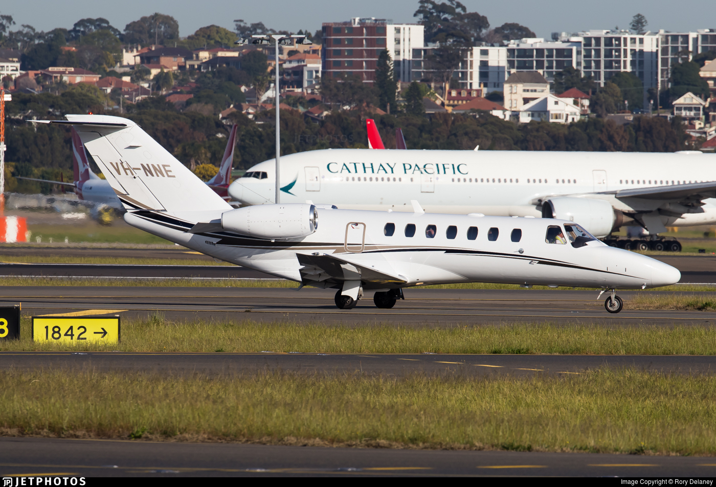 VH-NNE - Cessna 525 Citationjet CJ3 - Private