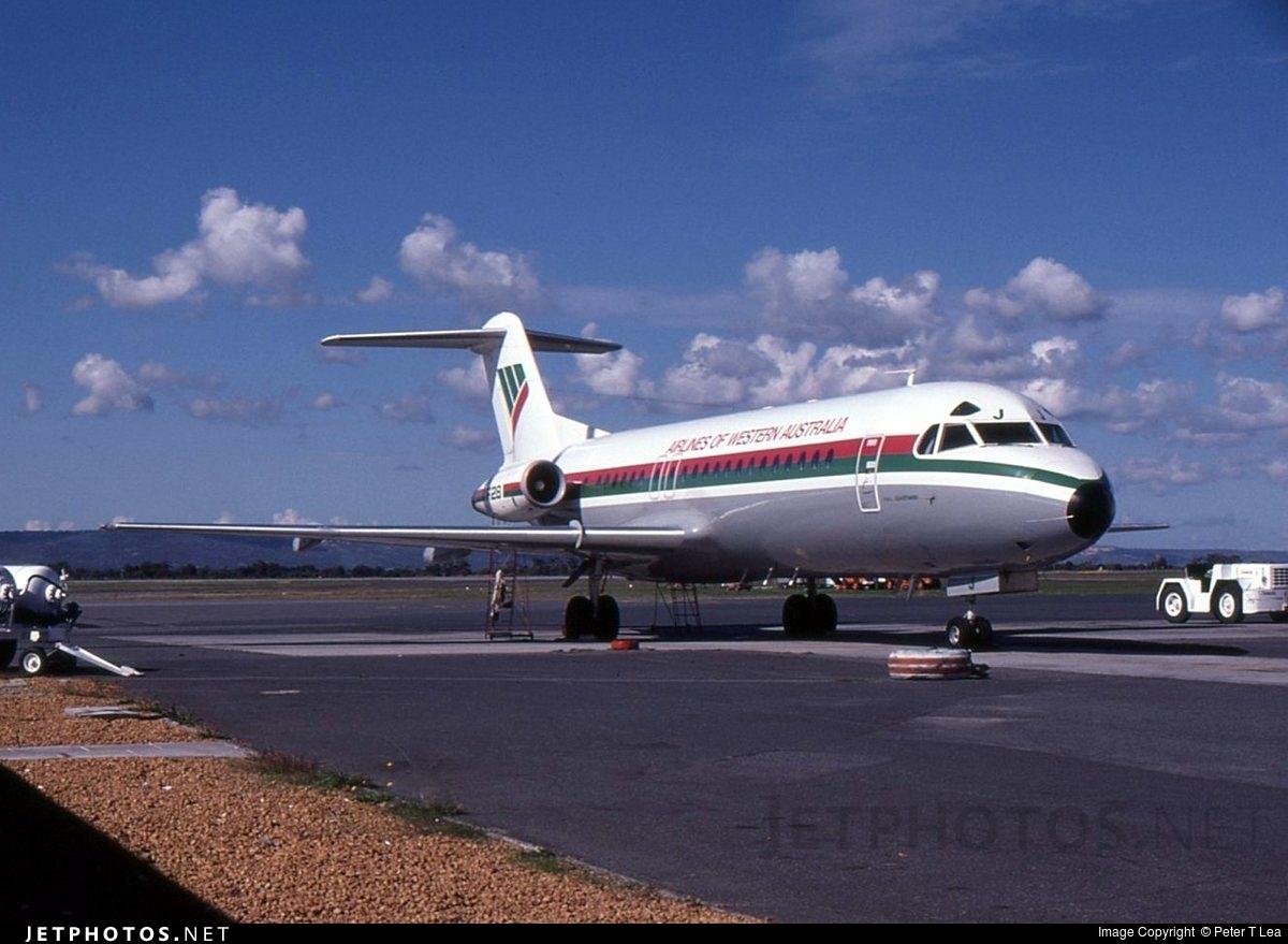 VH-FKJ - Fokker F28-4000 Fellowship - Airlines of Western Australia