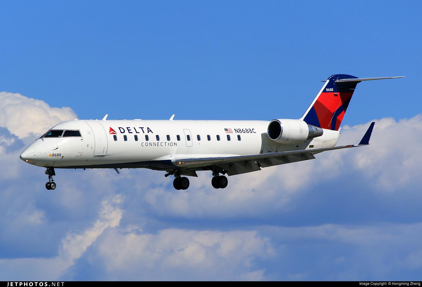 N8688C - Bombardier CRJ-440 - Delta Connection (Endeavor Air)