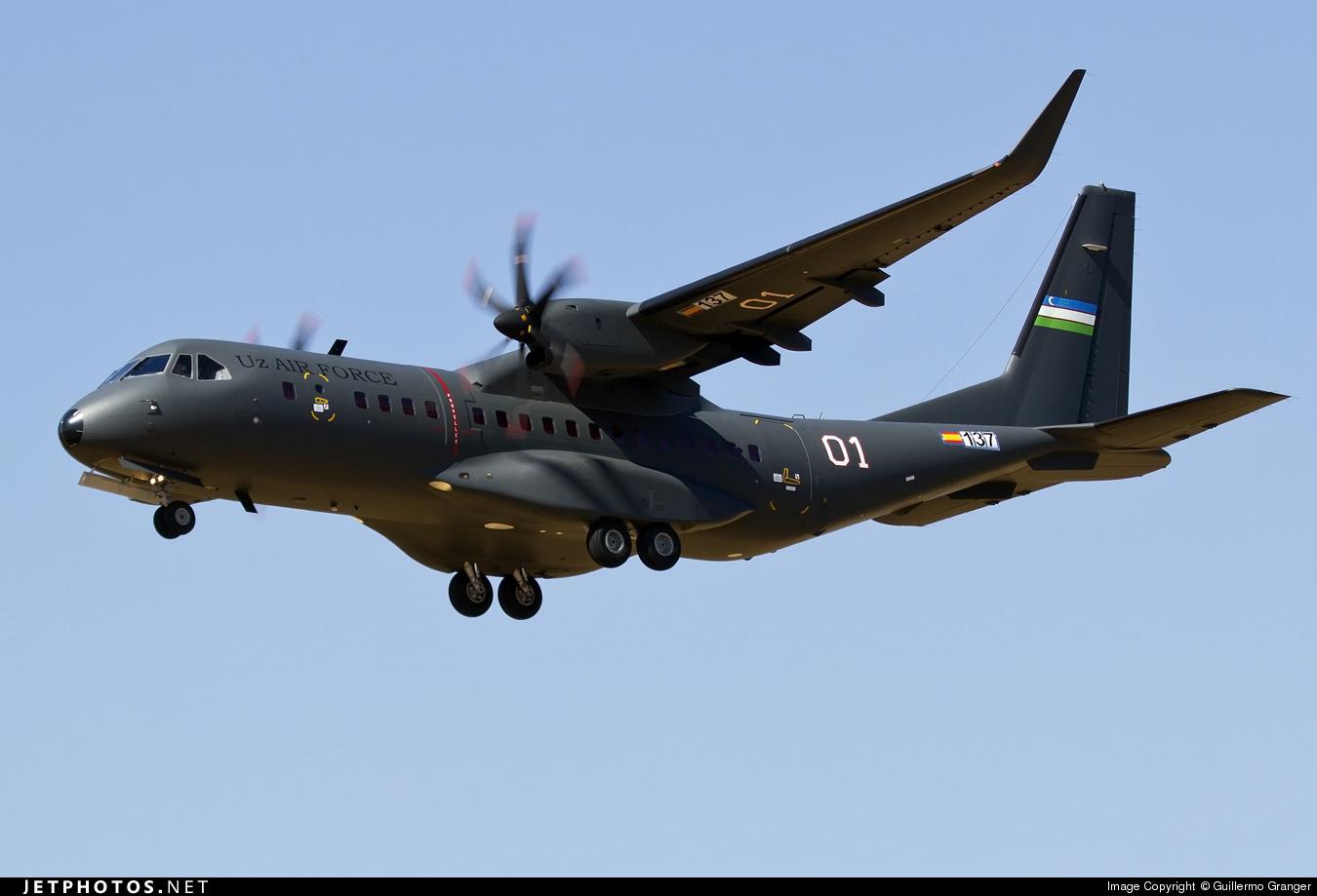 01 - Airbus C295W - Uzbekistan - Air Force