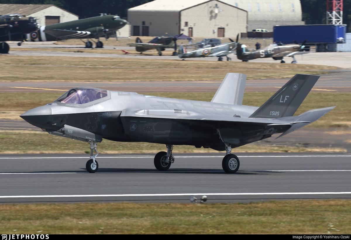15-5125 - Lockheed Martin F-35A Lightning II - United States - US Air Force (USAF)