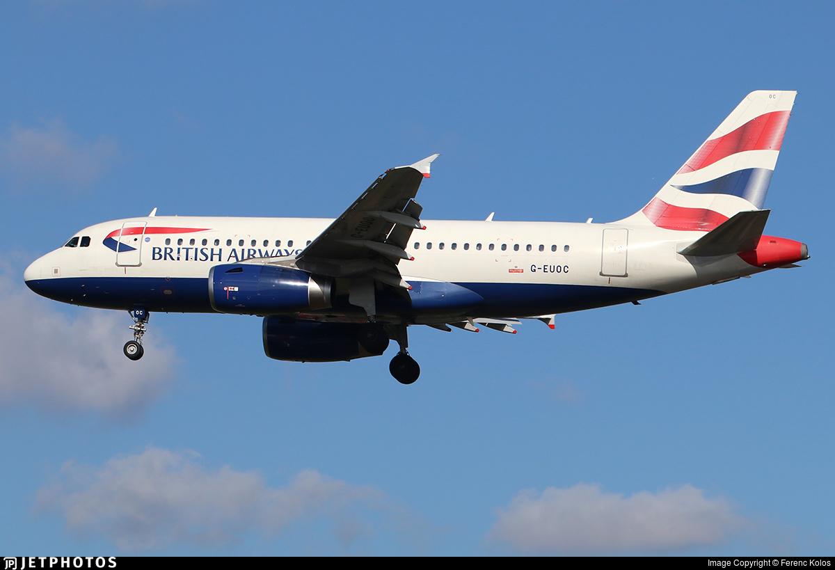 G-EUOC - Airbus A319-131 - British Airways