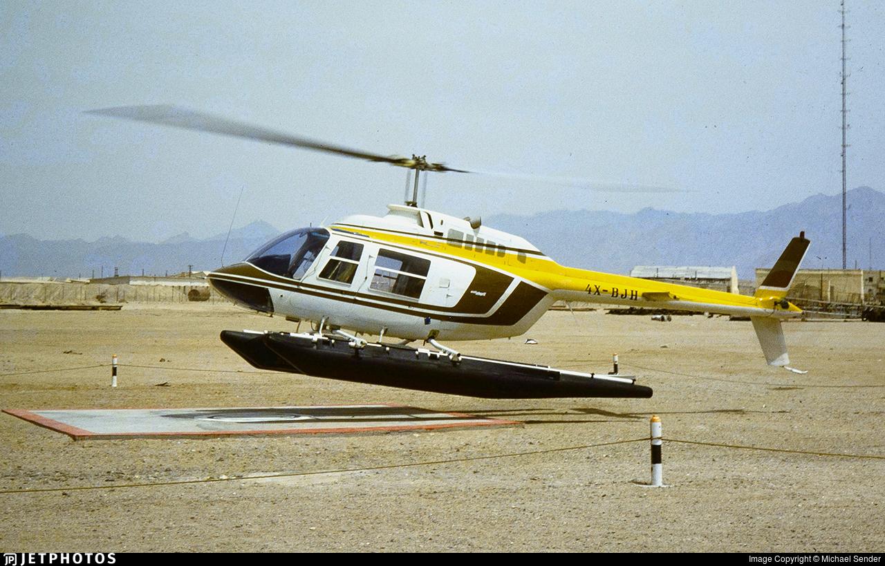 4X-BJH - Bell 206B JetRanger III - Chim-Nir Aviation