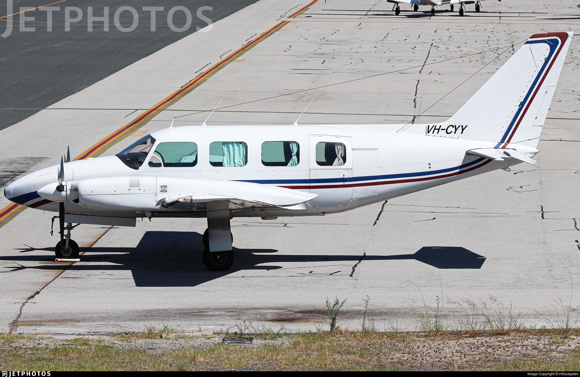 VH-CYY - Piper PA-31-310 Navajo B - Private