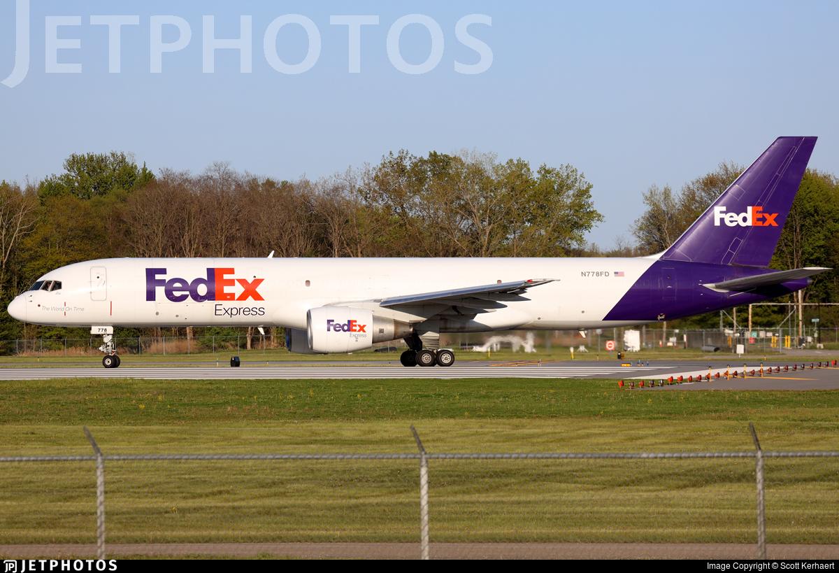 N778FD - Boeing 757-222(SF) - FedEx