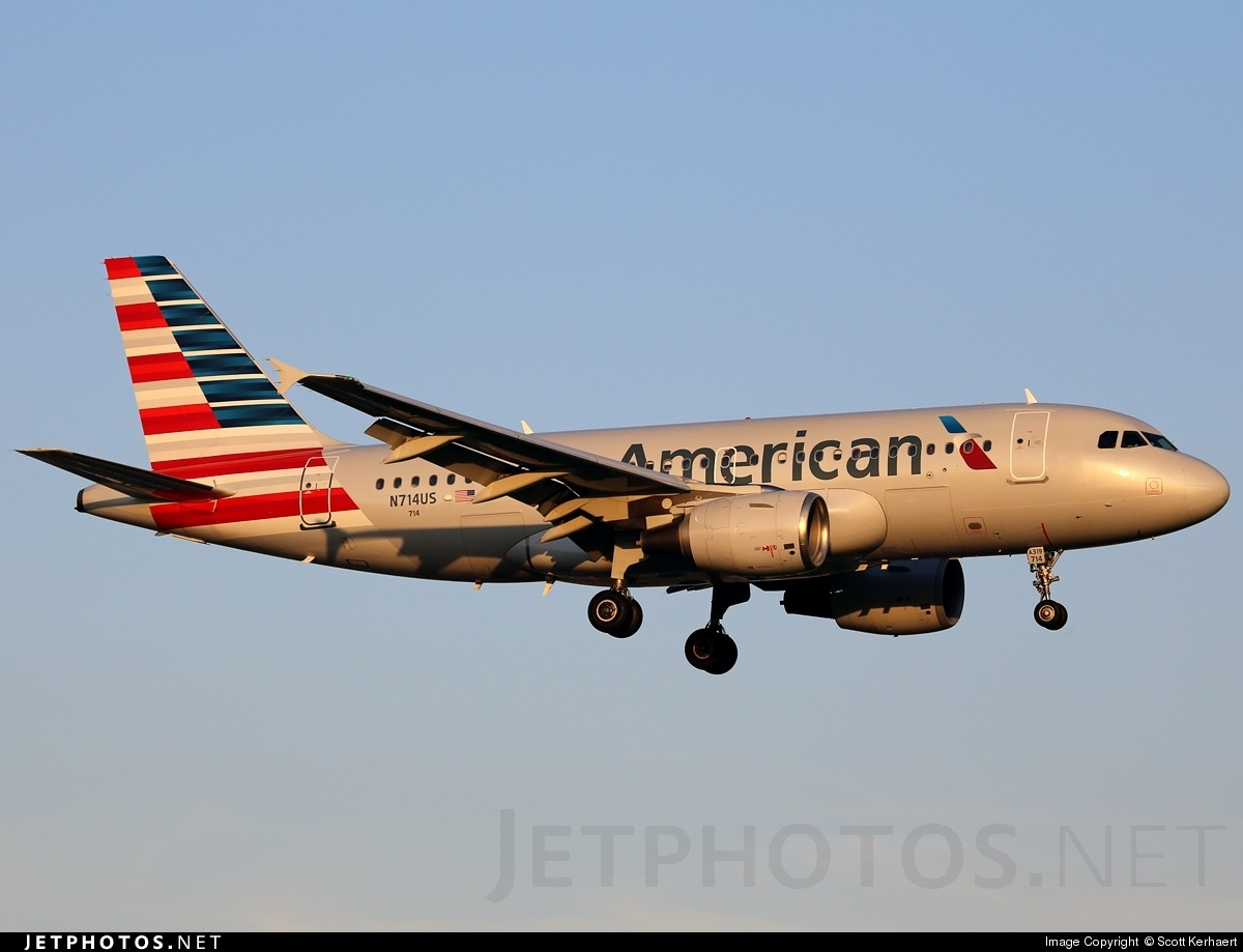N714US - Airbus A319-112 - American Airlines