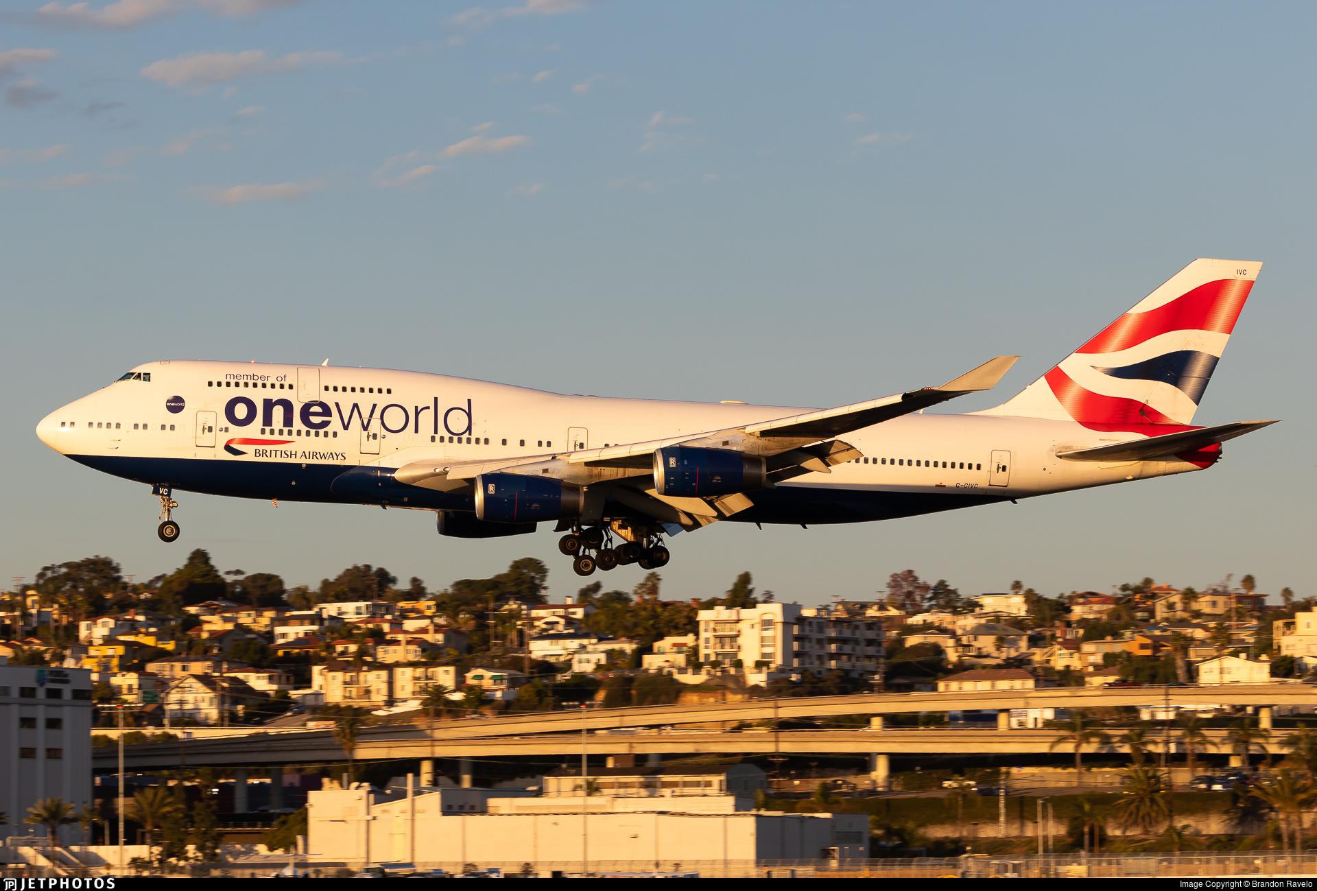 G-CIVC - Boeing 747-436 - British Airways