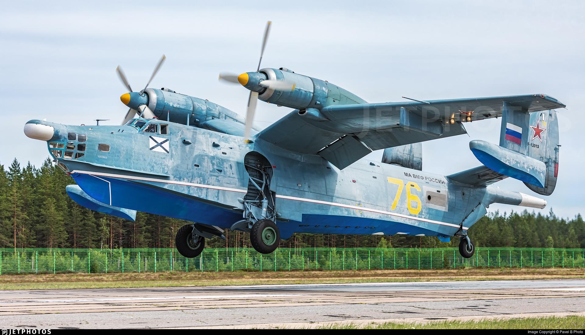 RF-12013 - Beriev Be-12 - Russia - Navy