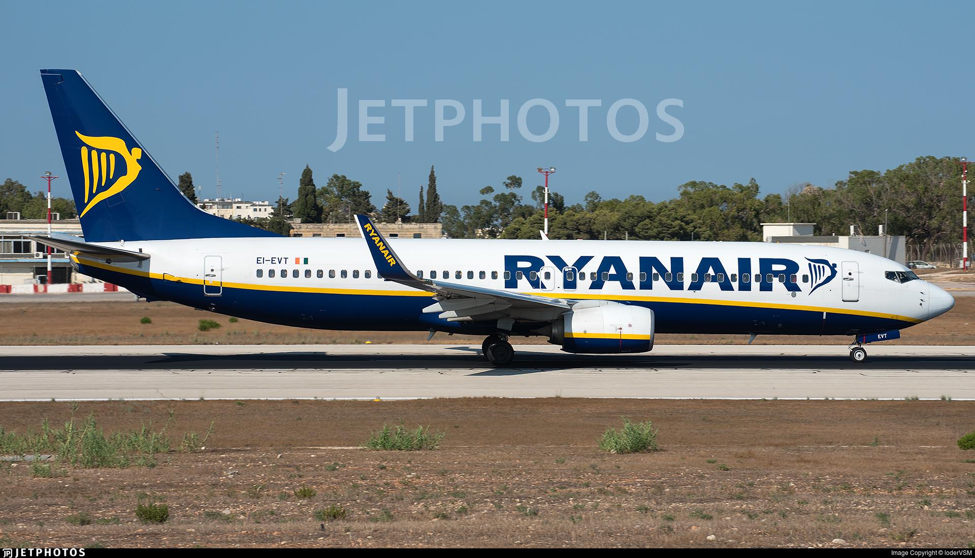 EI-EVT - Boeing 737-8AS - Ryanair
