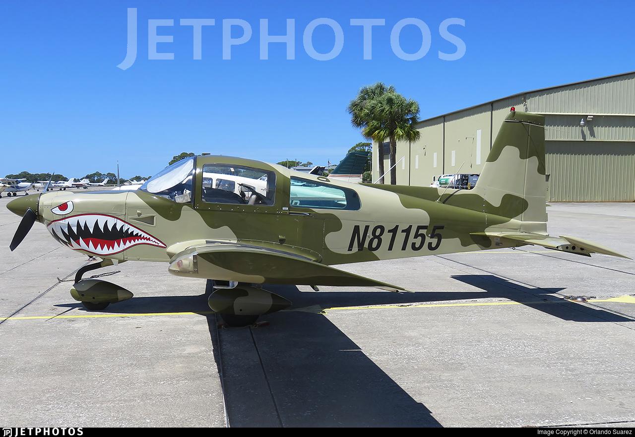 N81155   Grumman American AA-5B Tiger   Private   Orlando Suarez