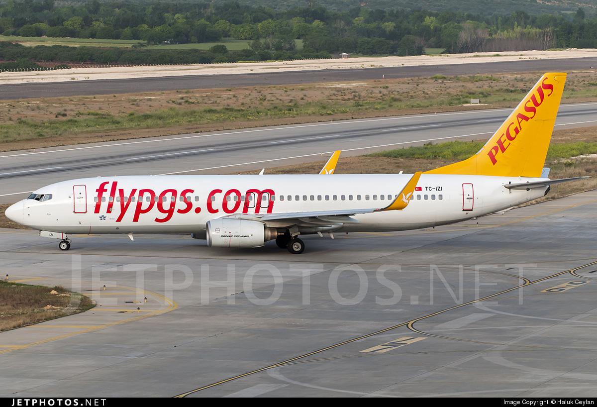 TC-IZI - Boeing 737-8GJ - Pegasus Airlines