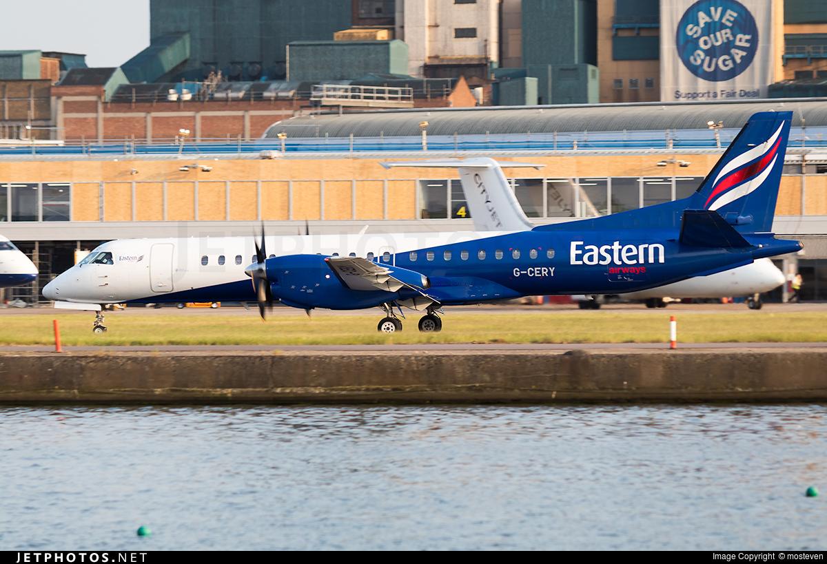 G-CERY - Saab 2000 - Eastern Airways
