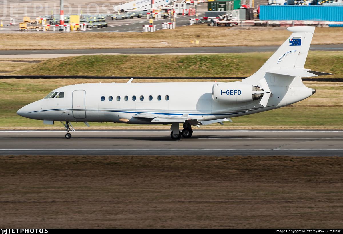 I-GEFD - Dassault Falcon 2000 - Air One Executive