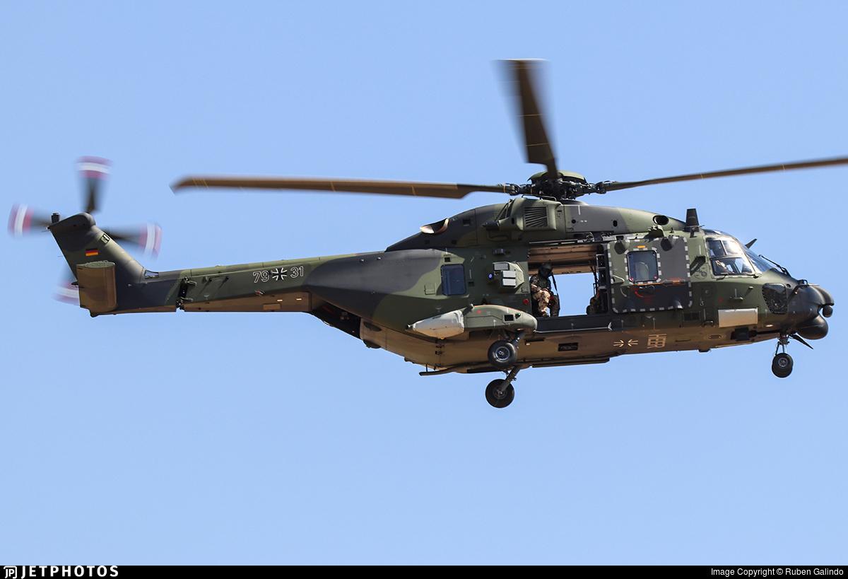 79-31 - NH Industries NH-90TTH - Germany - Army