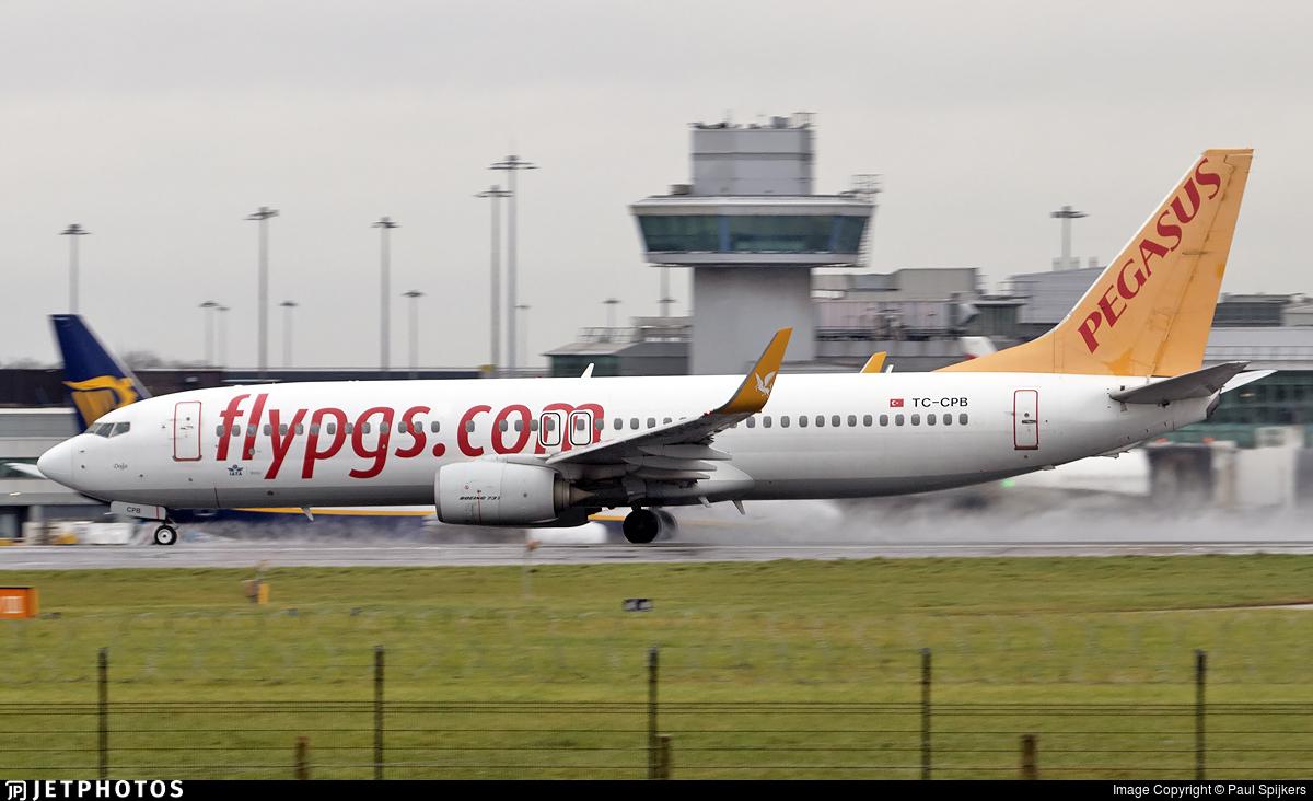 TC-CPB - Boeing 737-82R - Pegasus Airlines
