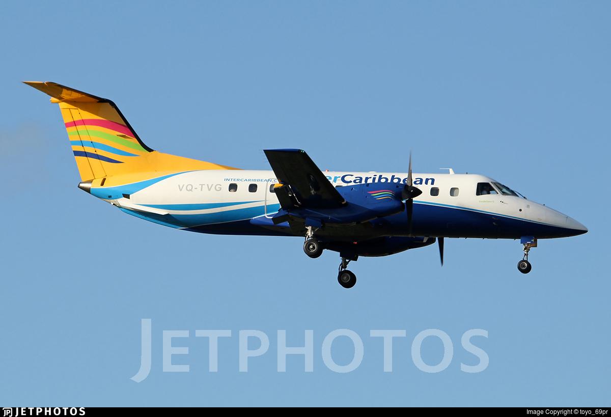 VQ-TVG - Embraer EMB-120ER Bras�lia - interCaribbean Airways