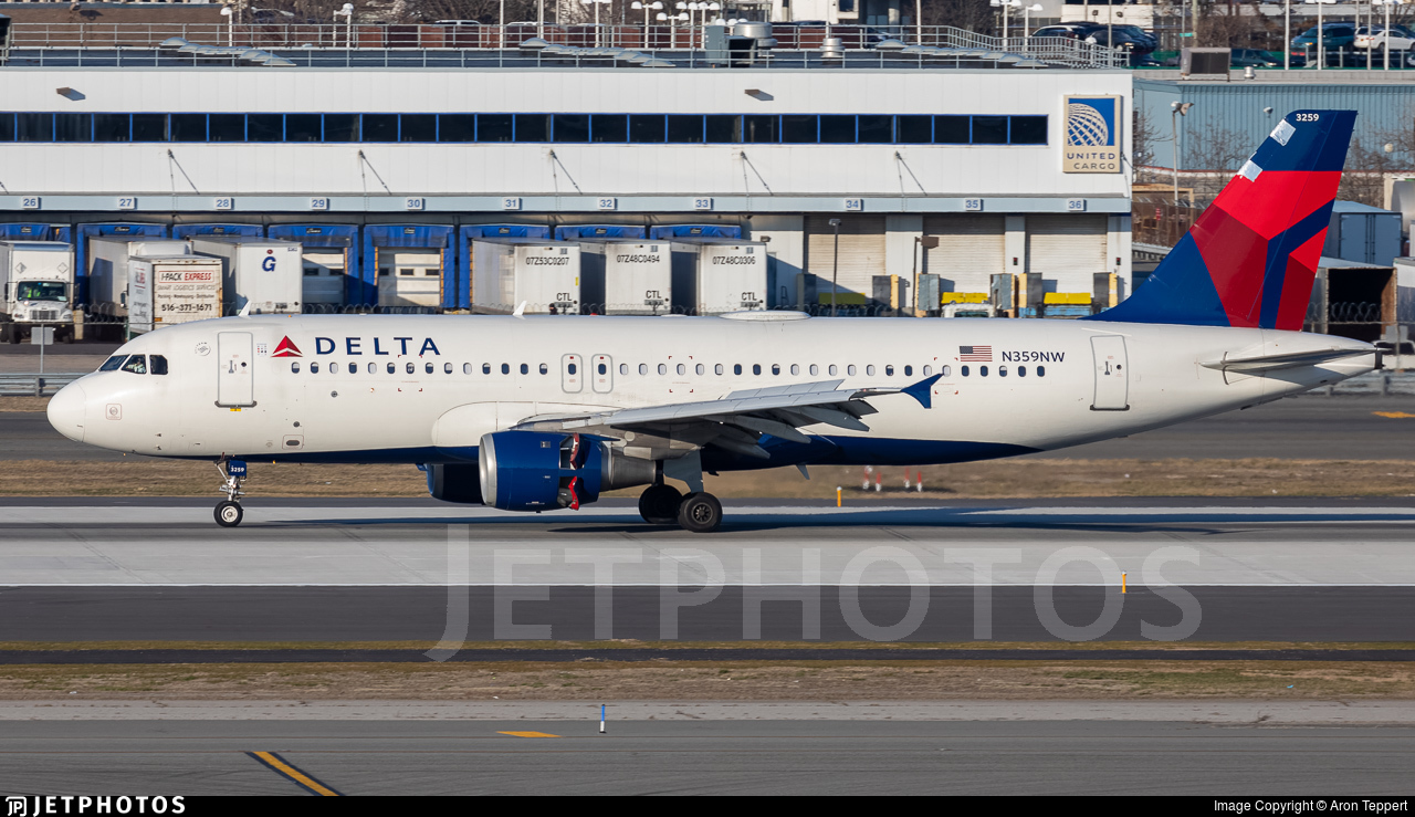 N359NW - Airbus A320-212 - Delta Air Lines