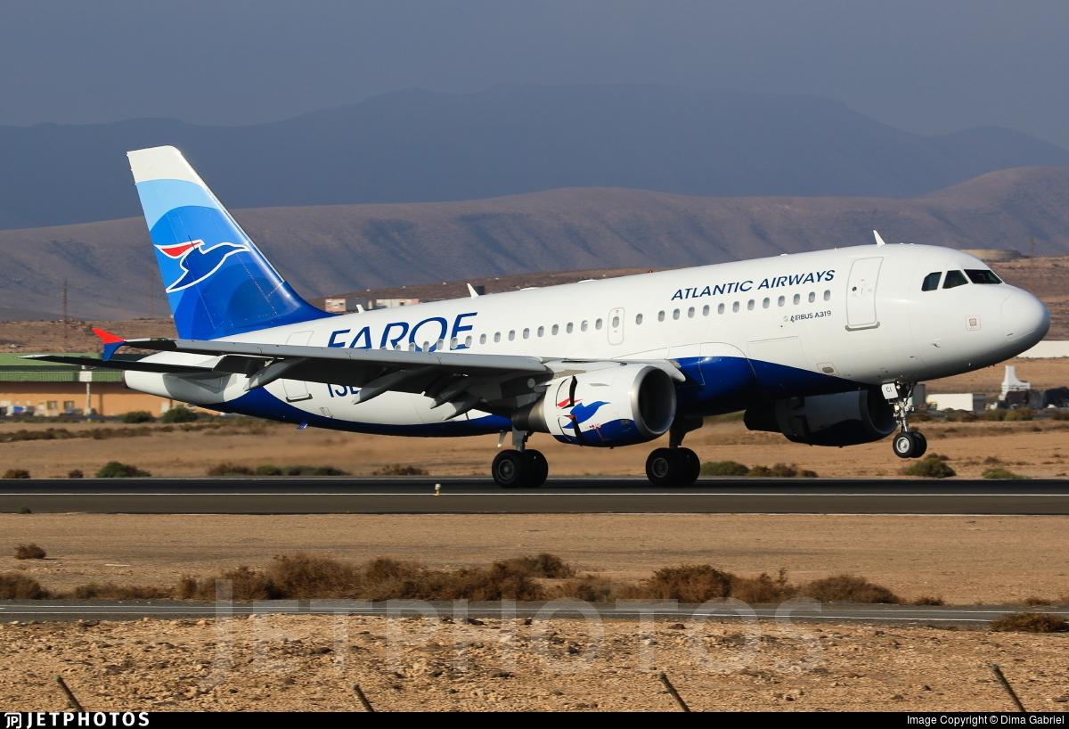 OY-RCI - Airbus A319-112 - Atlantic Airways