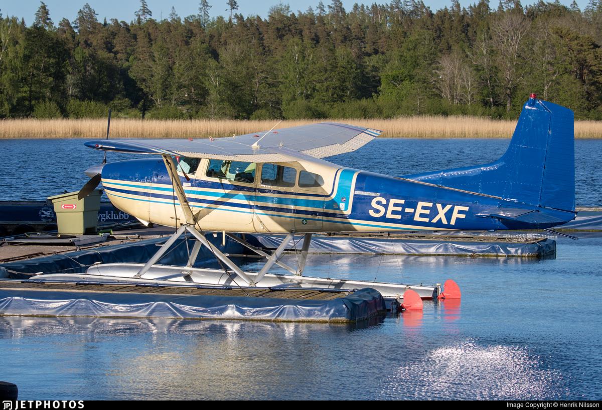 SE-EXF - Cessna 185D Skywagon - Private