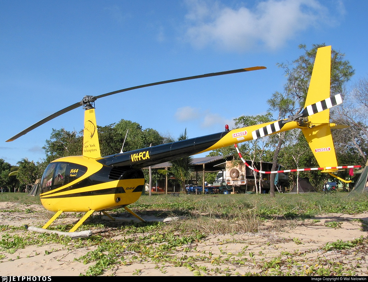 VH-FCA - Robinson R44 Raven - Cape York Helicopters