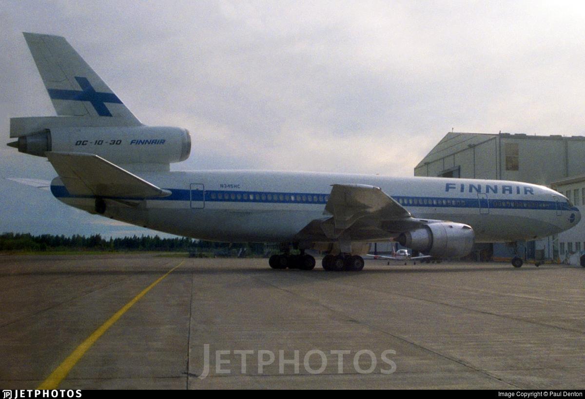 N345HC - McDonnell Douglas DC-10-30 - Finnair