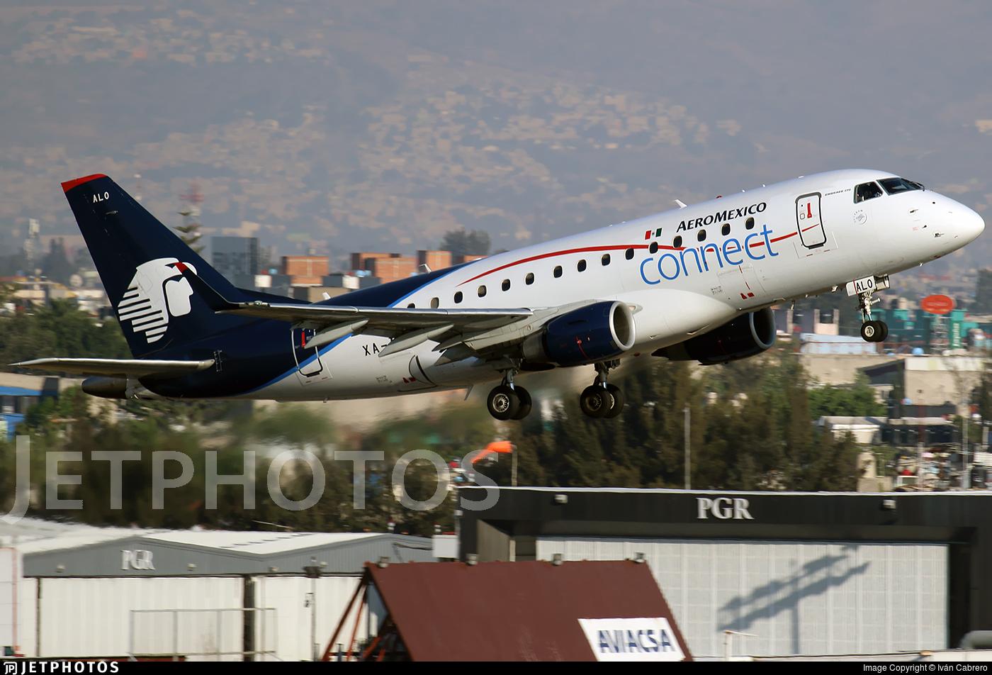 XA-ALO - Embraer 170-100LR - Aeromexico Connect
